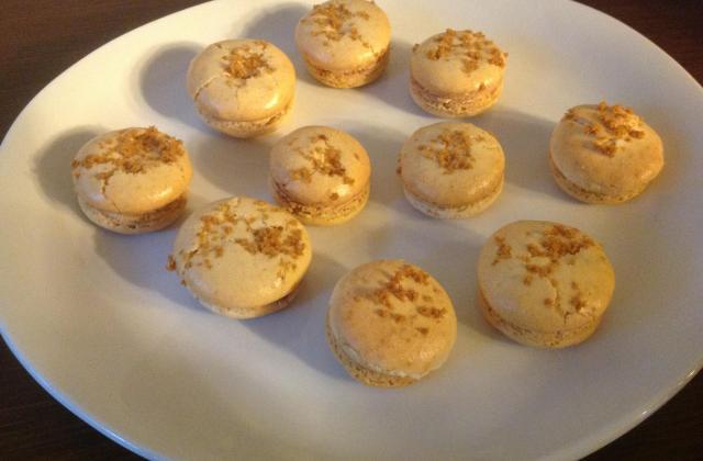 Macarons au pain d'épices et foie gras - Photo par Invité