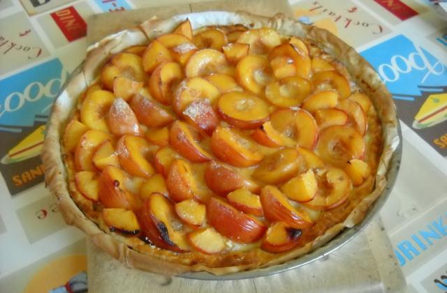 Tarte aux prunes traditionnelle - Photo par moronr