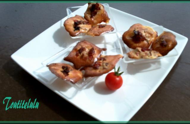 Tits palets meringués au parmesan et tomates séchées sans gluten - Photo par Toutitelulu