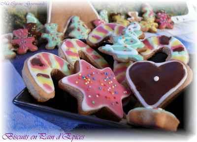 Biscuits de Noël en Pain d'Epices - Photo par delf745