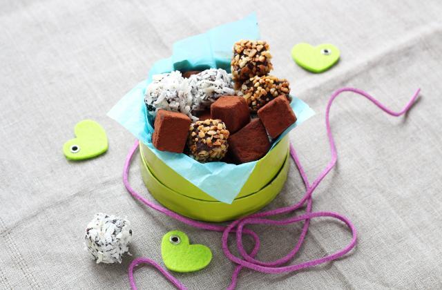 Truffes au chocolat en 3 versions - Photo par Silvia Santucci
