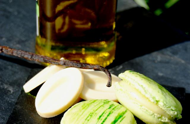 Macarons à l'huile d'olive et à la vanille - Photo par Alexandra Armanelli