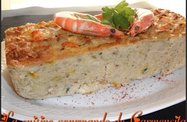 Terrine de lotte aux crevettes - Photo par Carmen
