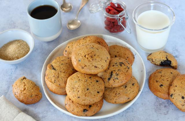Cookies à la patate douce et chocolat noir (sans beurre) - Photo par Silvia Santucci