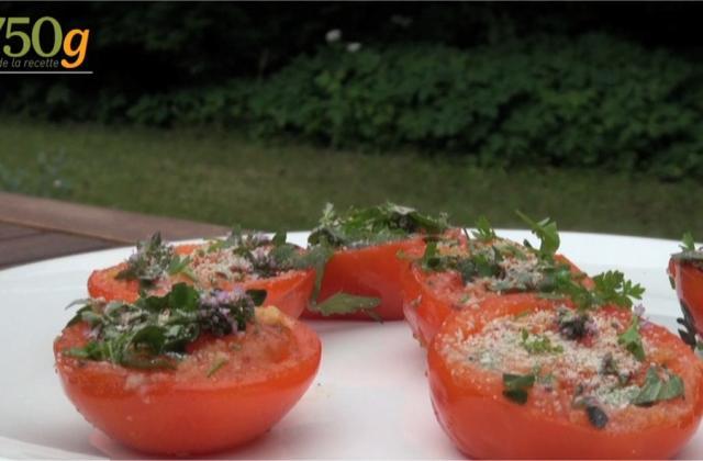 Délicieuses tomates à la provençale cuites à la plancha - Photo par 750g