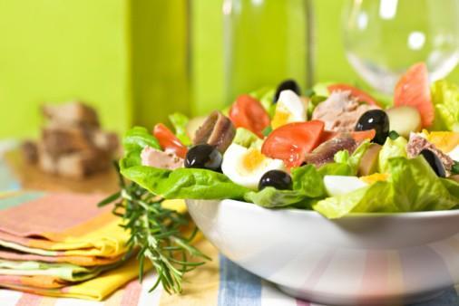 Salade niçoise classique - Photo par 750g