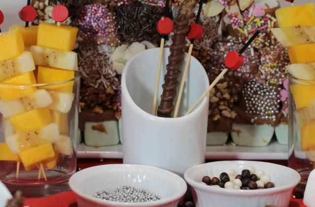 Autour d'une fondue de chocolat - Photo par A Prendre Sans Faim