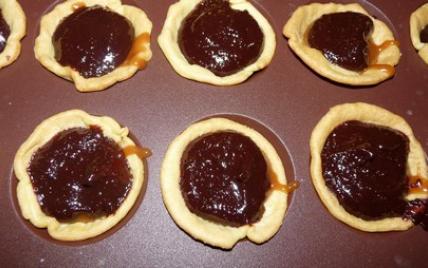 Tartelette chocolat caramel au beurre salé - Photo par chokog