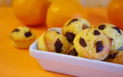 Mini muffins orange/chocolat - Photo par fotocook