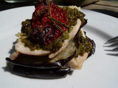 Saltimboca d'aubergines au pesto - Photo par pitiboh