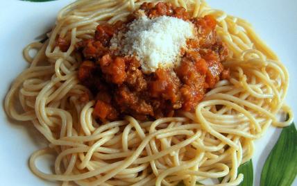 Spaghettis à la sauce bolognaise, ma recette secrète - Photo par pichoupich