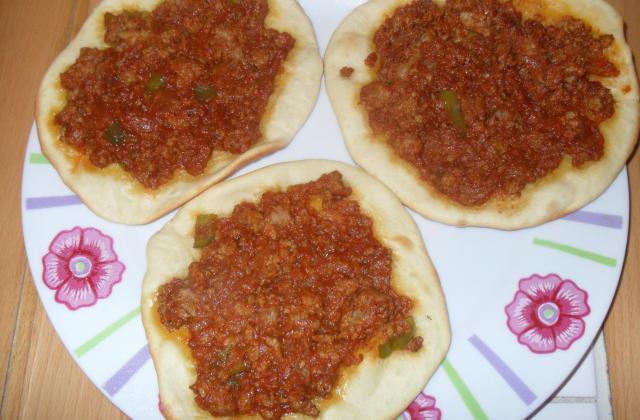 Pizza turc revisitée - Photo par oumrayan