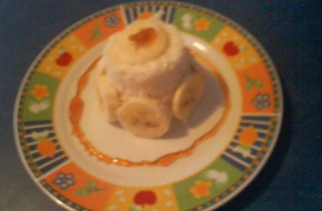Riz au lait à la banane - Photo par pistou3559