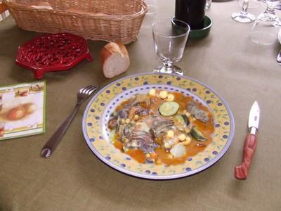 Tagine aux figues, aux abricots et raisins secs - Photo par lafermY