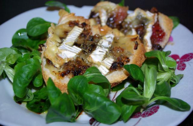 Tartines au camembert - Photo par kroline