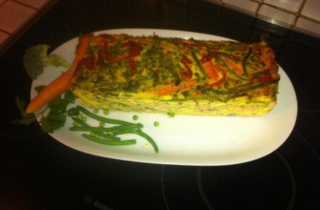 Terrine de légumes au saumon - Photo par laurieS