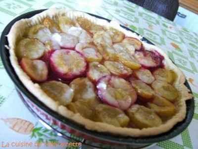 Tarte aux prunes de Maman - Photo par misstr