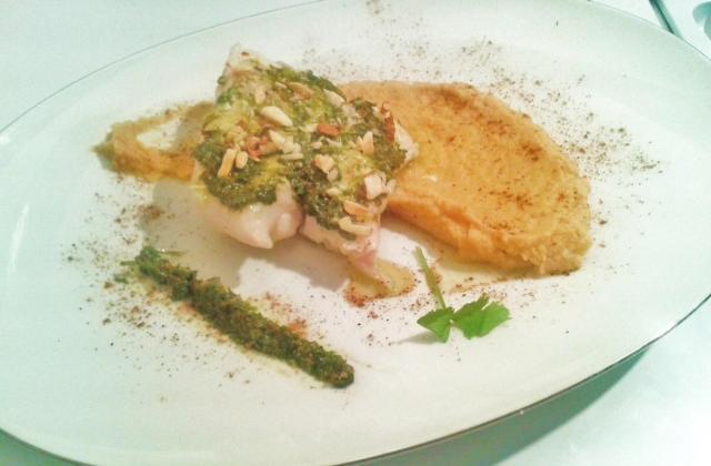 Cabillaud au pesto de coriandre - Photo par Reves de cuisinier