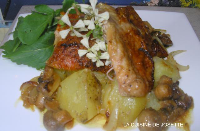 Cuisse de dinde rôti aux épices - Photo par bijou