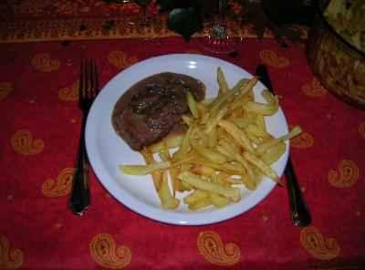Biche sauce chasseur - Photo par ddbrut