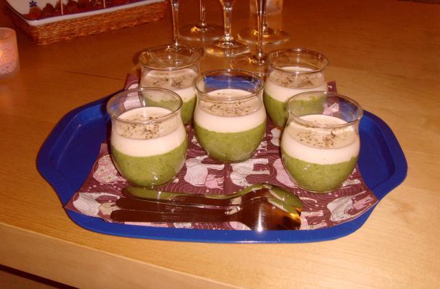 Caviar de courgettes et crème de parmesan facile - Photo par Donzé