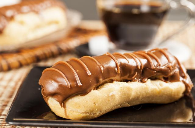 Eclair au chocolat et au café - Photo par 750g