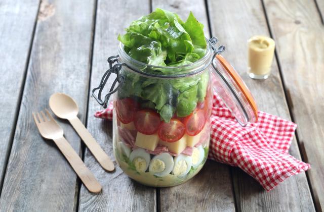 Salade en bocal - Photo par Silvia Santucci