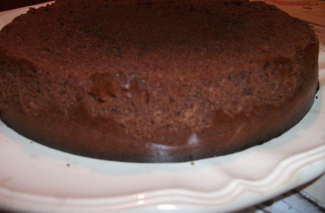 Gâteau au chocolat et poudre d'amandes - Photo par gaellelecolo43