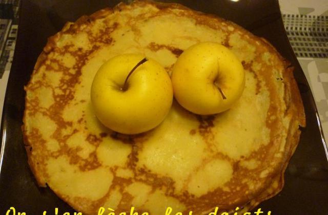 Crêpes aux pommes express - Photo par pepitavignon
