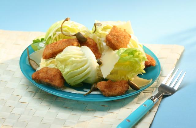 Salade caesar à la sauce bulgare - Photo par Amora