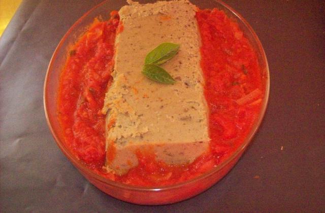 Terrine d'aubergine à la sauce tomate - Photo par dalyz