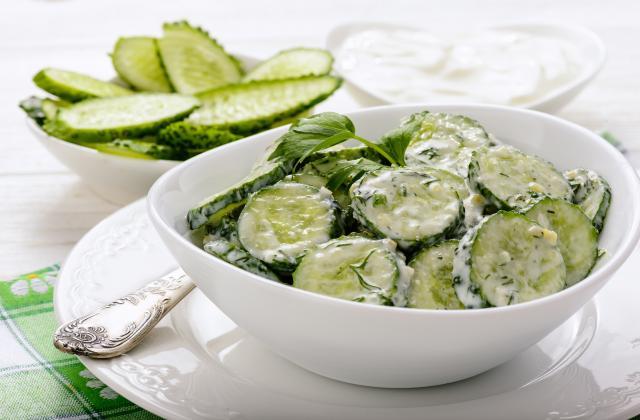 5 salades de concombre qui changent - Photo par 750g