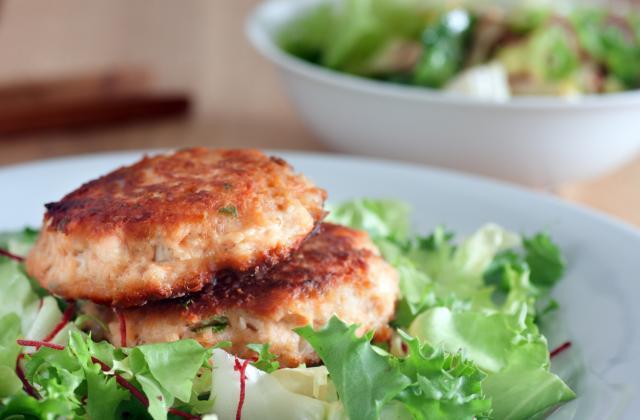 Croquettes de pommes de terre au saumon façon fish cake - Photo par 750g