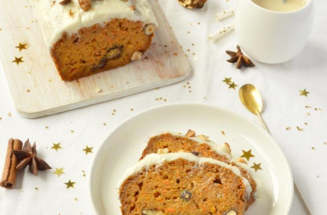 Carrot cake aux multiples saveurs - Photo par Angélique Roussel pour Soy