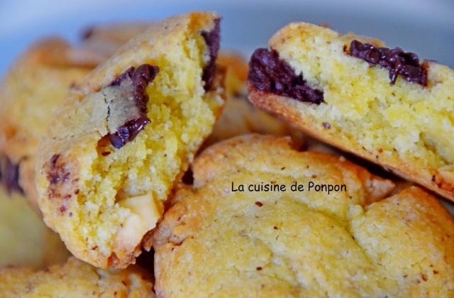 Biscuit chocolat noisette - Photo par Ponpon