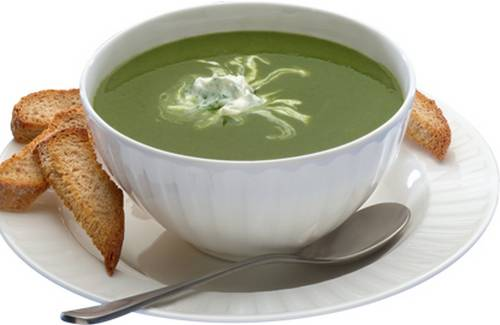 Soupe aux épinards et Philadelphia - Photo par philad3