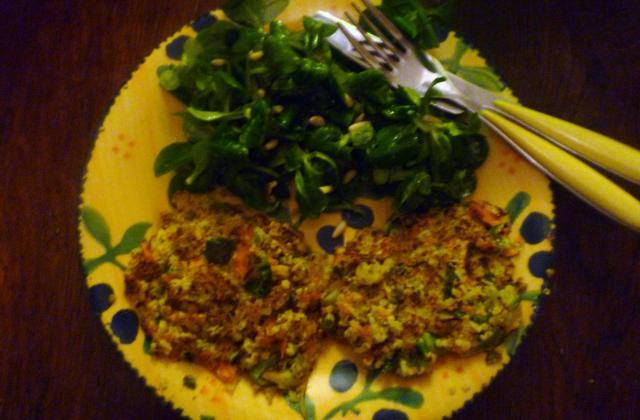 Galettes de quinoa aux légumes faciles - Photo par lilimarti