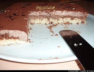 Royal au chocolat facile - Photo par La patiss de neness