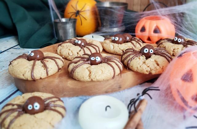 Spider Cookies spécial Halloween - Photo par LifeLoveandChocolate
