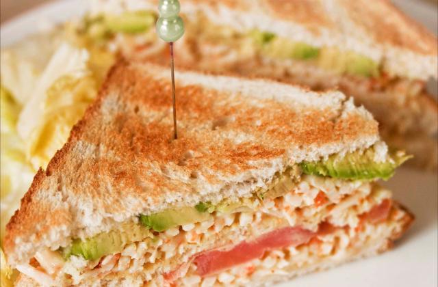 Club sandwich au Râpé de la Mer Coraya - Photo par Coraya
