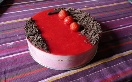 Bavarois fraises/framboises - Photo par frankw