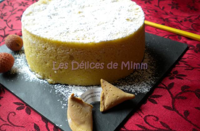 Gâteau éponge à la vapeur - Photo par mimm10