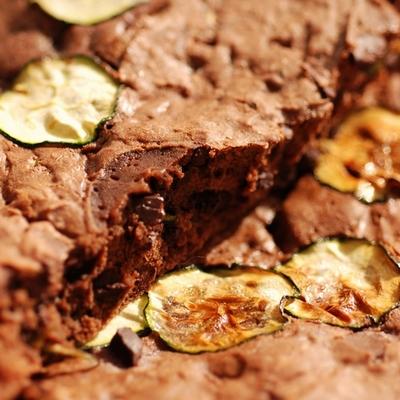 Moelleux tout moelleux et chocolat et courgette - Photo par Dorian Nieto