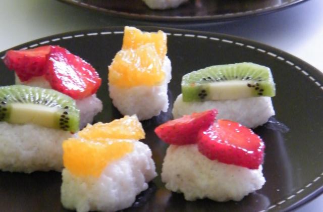 Risotto sucré façon sushi - Photo par stephaniegr