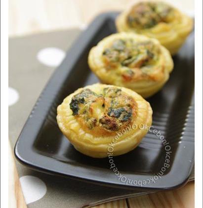 Tartelettes aux orties et au Cantal - Photo par okcebo