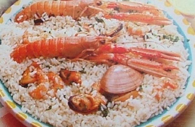 Risotto aux fruits de mer économique - Photo par capali