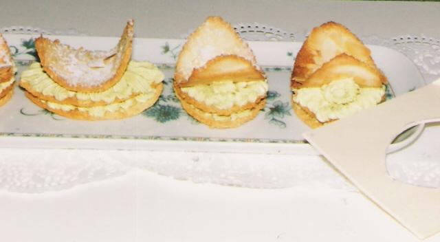 Gâteaux aux pistaches - Photo par Maurice.B