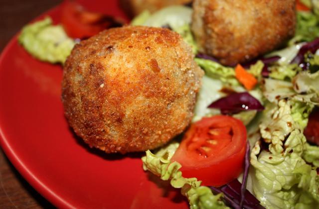 Cromesquis, boules pommes de terre, céleri et bœuf au 4 épices, - Photo par annfleur