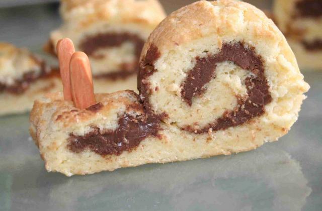Escargots roules au nutella - Photo par sophroch