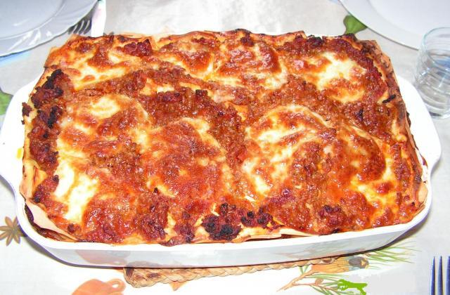 Lasagnes facile - Photo par kekeli